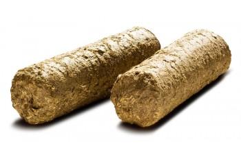 Брикеты из соломы: особенности производства, преимущества