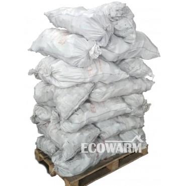 Торфобрикеты в полипропиленовых мешках по 40 кг, 1т.